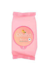 CELAVI APRICOT MAKE UP REMOVER CLEANSING TOWELETTES 30 SHEETS