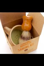 No.15 Matilija Blend Goat Milk Shaving Soap Kit