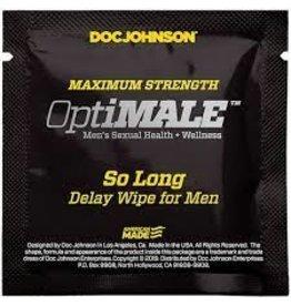 OPTIMALE So Long Delay Wipes for Men
