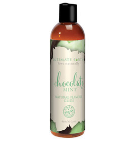Intimate Earth Natural Flavors Glide - 120 ml Chocolate Mint