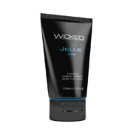 Wicked Sensual Care Jelle Cooling Water Based Anal Gel Lubricant - 4 oz
