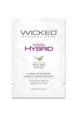 Wicked Sensual Care Simply Hybrid Lubricant - .1 oz.