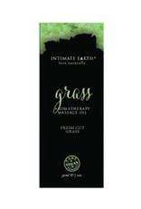 Intimate Earth Massage Oil Foil - 30ml Grass
