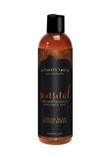 Intimate Earth Sensual Massage Oil - 120 ml Cocoa Bean & Gogi Berry
