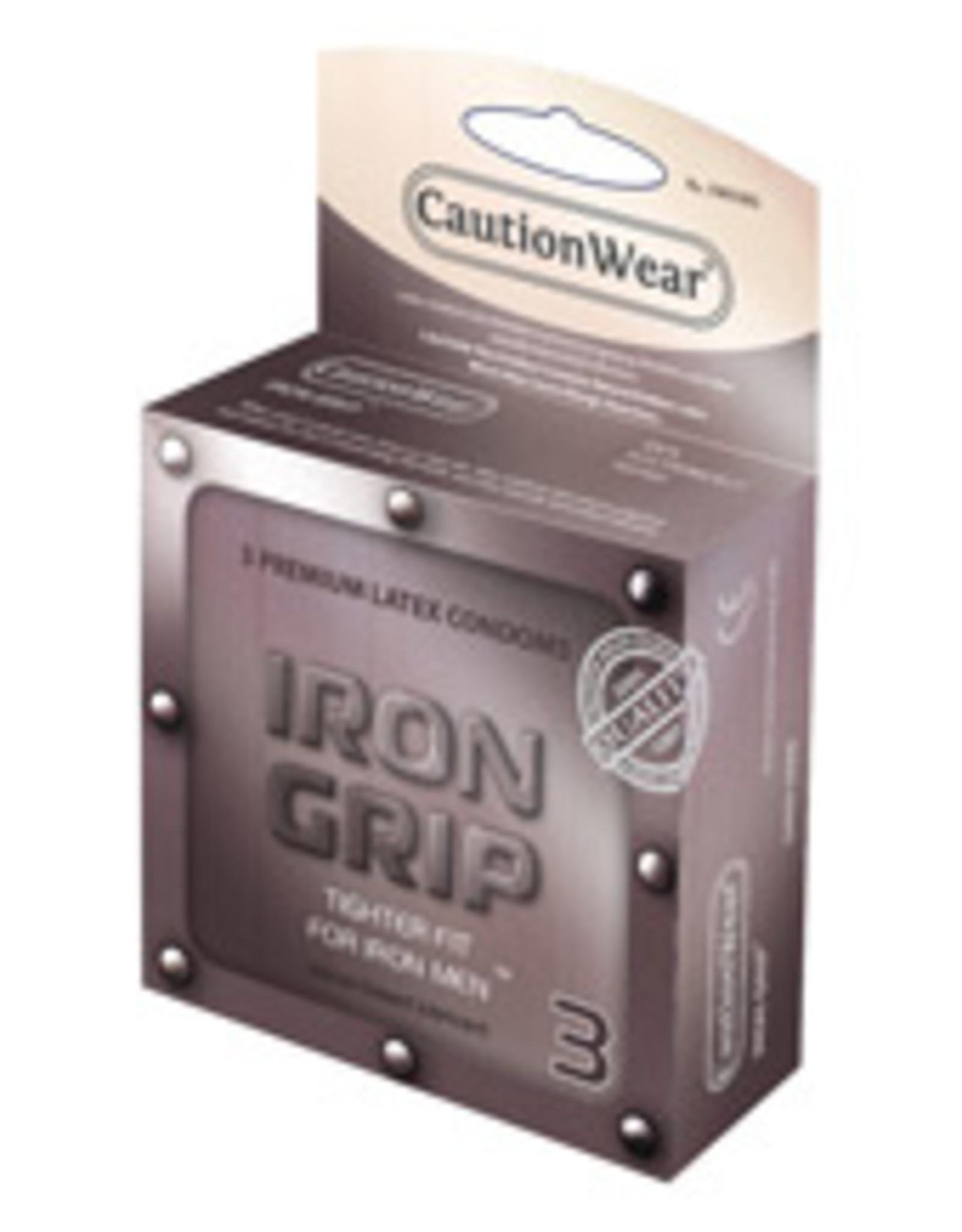 Caution Wear Iron Grip Snug Fit 3pk