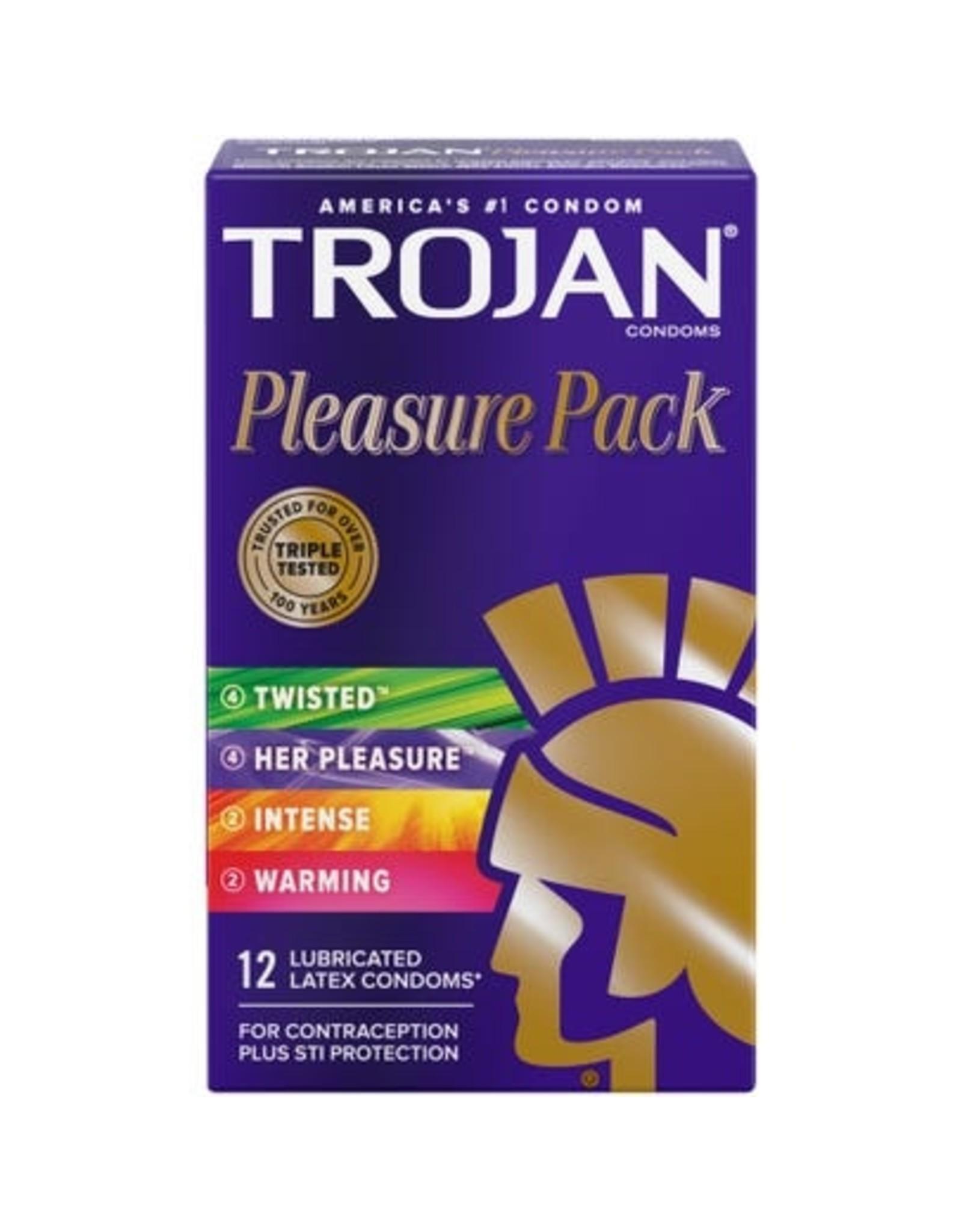 Trojan Pleasure Pack Assorted 12pk