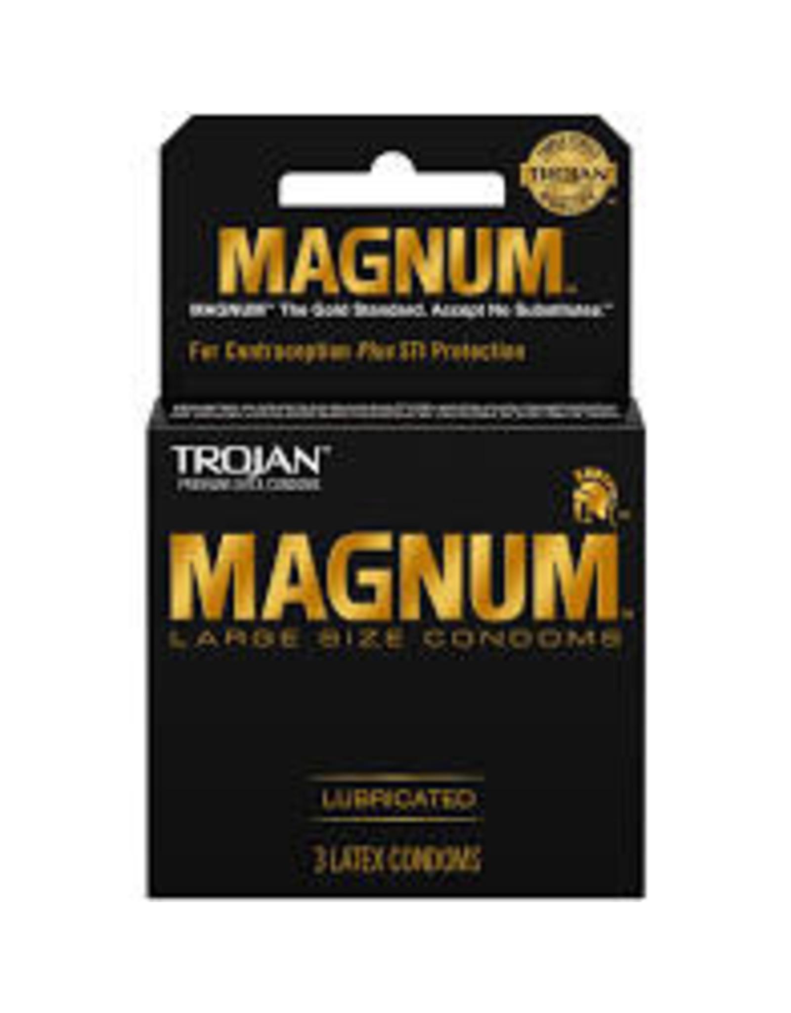 Trojan Magnum Large Size Condoms Single