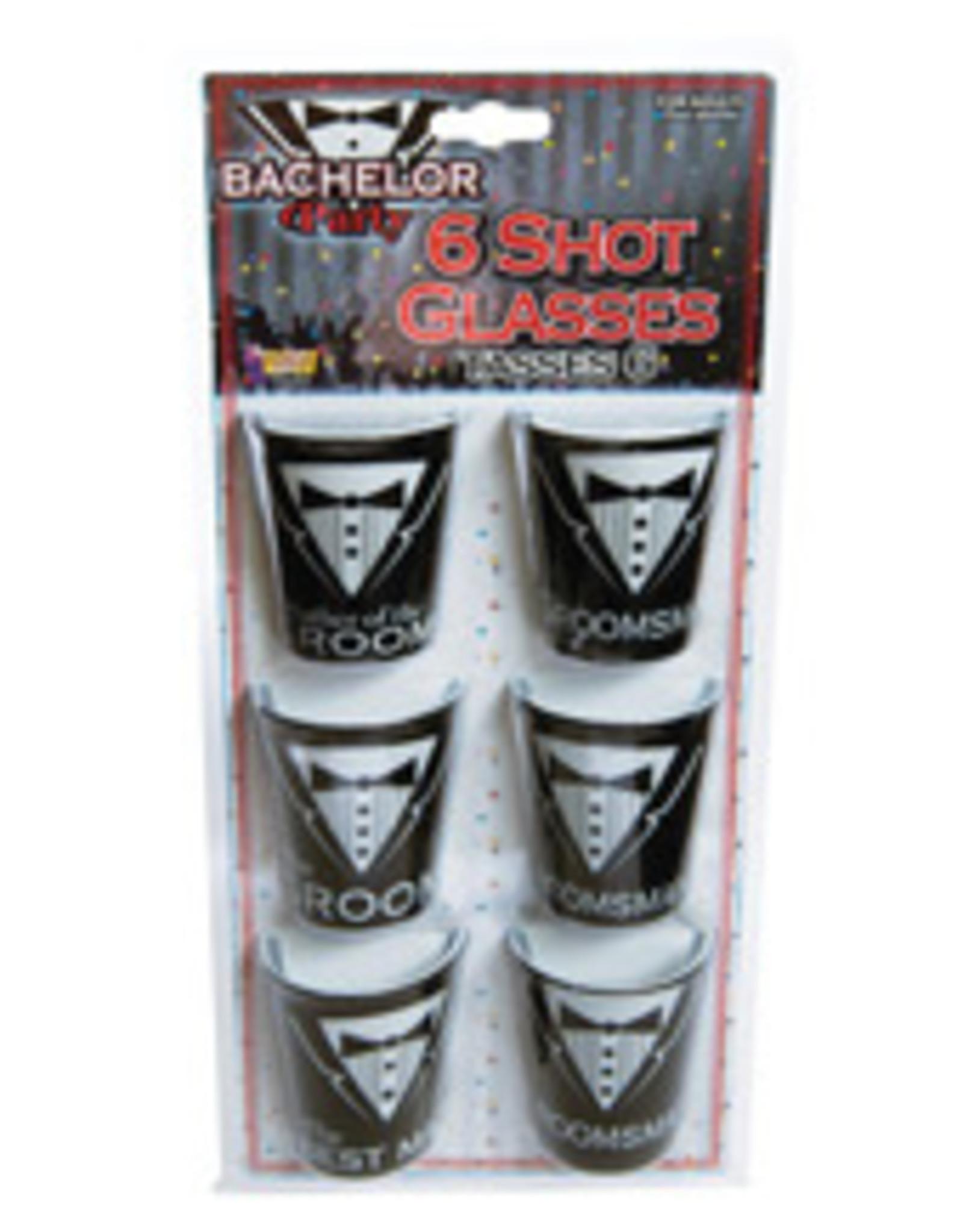 Bachelor Party Shot Glass 6pk