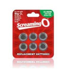 Screaming O AG-10 Batteries Single