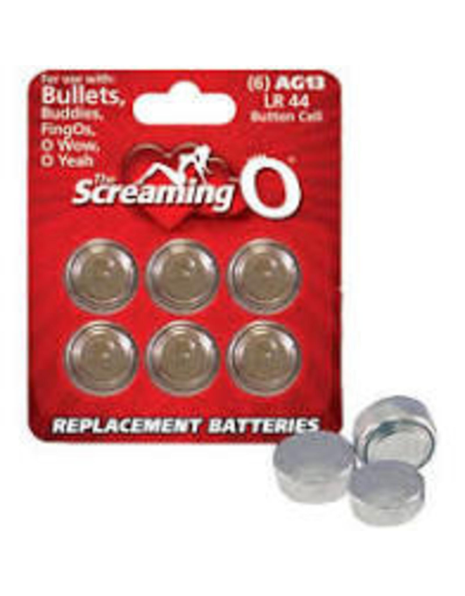 Screaming O AG 13 Batteries Single