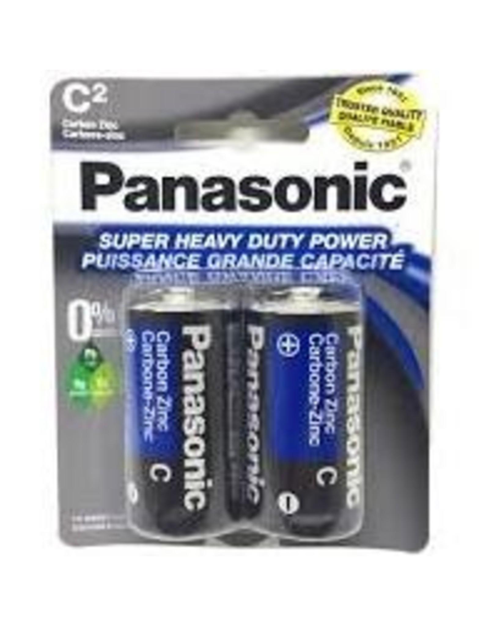 Panasonic C-2 Super Heavy Duty Batteries