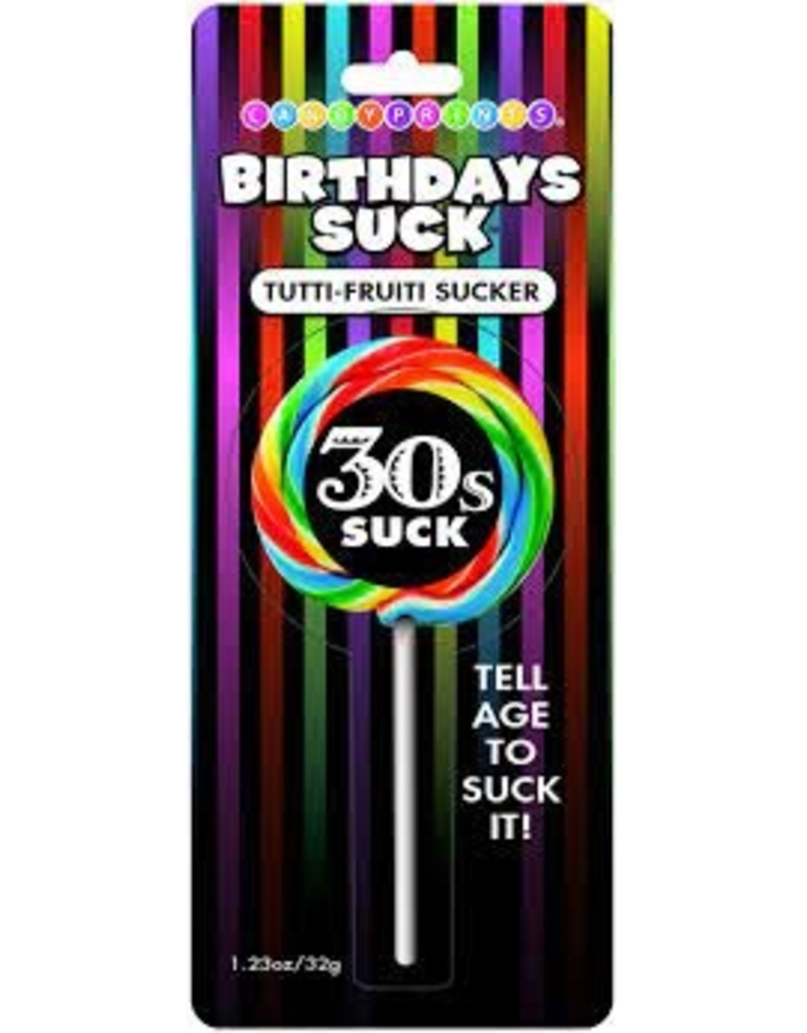 Birthday's Suck Lollipop-30s