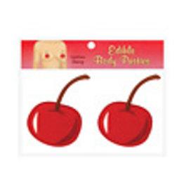 Edible Body Pasties - Luscious Cherry