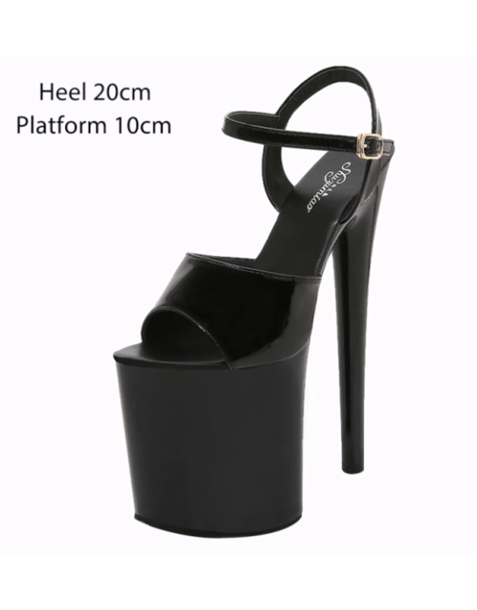 Black Extra Tall Platforms
