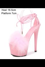 Pink Feather Platforms