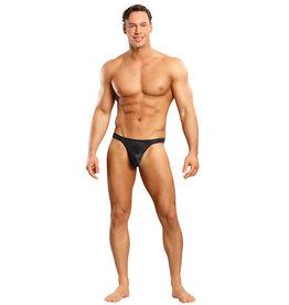 Male Power Bong Thong Black L/XL