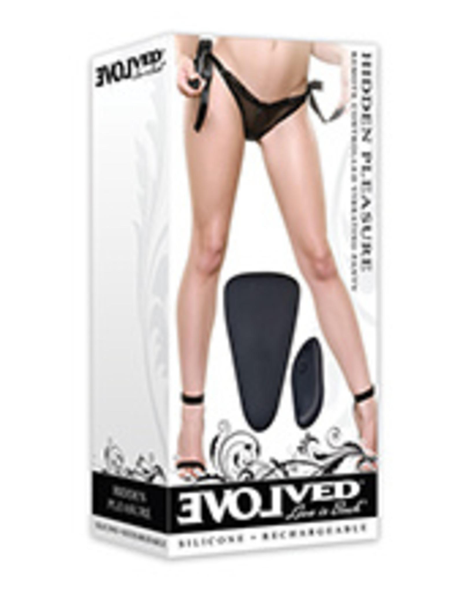 Evolved Hidden Pleasure Panty Vibe - Black