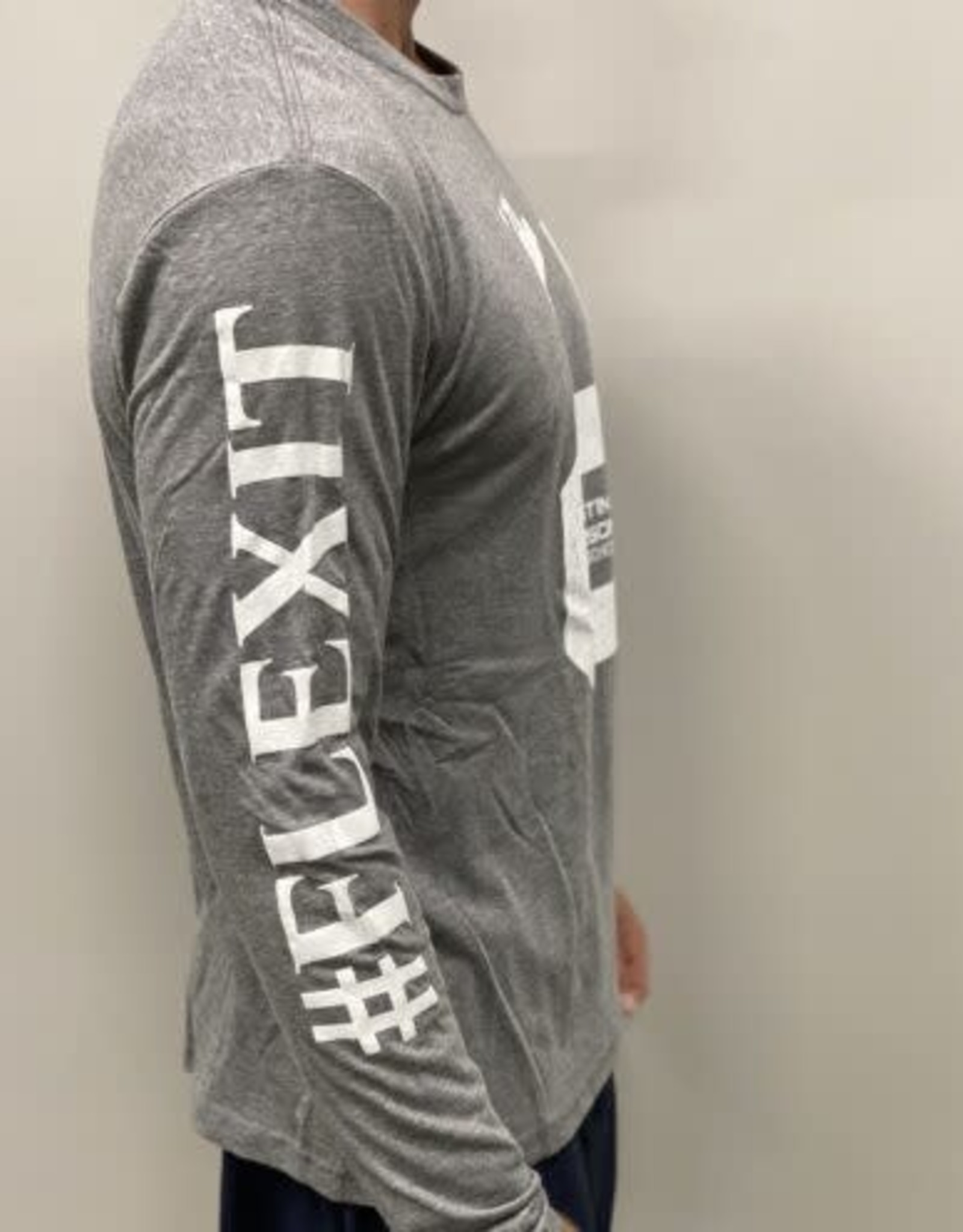 Men's Long Sleeved #Flexit Logo Tees
