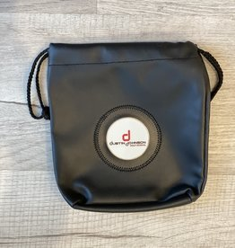 DJGS Leather Valuables Bag with Sinch Top