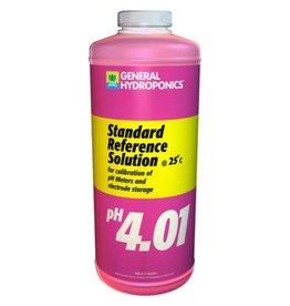 General Hydroponics GH pH 4.01 Calibration Solution Quart