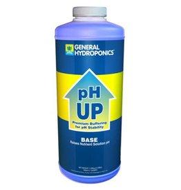 General Hydroponics GH pH Up Liquid Quart