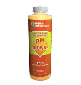 General Hydroponics GH pH down 8oz