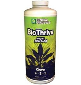 General Hydroponics GH General Organics BioThrive Grow Quart