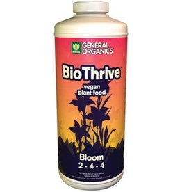General Hydroponics GH General Organics BioThrive Bloom Quart
