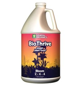 General Hydroponics GH General Organics BioThrive Bloom Gallon