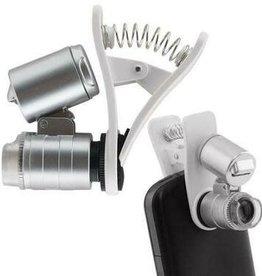 Growers Edge Grower's Edge Universal Cell Phone Illuminated Microscope w/ Clip - 60x