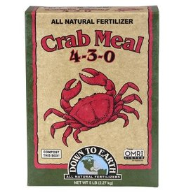 Down to Earth Down To Earth™ Crab Meal 4 - 3 - 0 5 Lb.