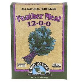 Down to Earth Down To Earth™ Feather Meal 12 - 0 - 0           5 LB.