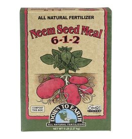 Down to Earth Down To Earth™ Neem Seed Meal 6 - 1 - 2     5lb.