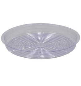 Gro Pro Gro Pro Premium Clear Plastic Saucer 14 in