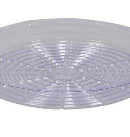 Gro Pro Gro Pro Premium Clear Plastic Saucer 18 in