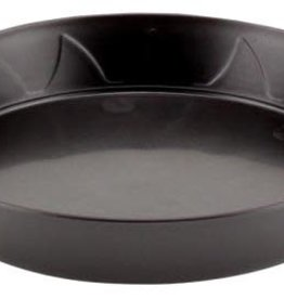 Gro Pro Gro Pro Heavy Duty Black Saucer - 6 in