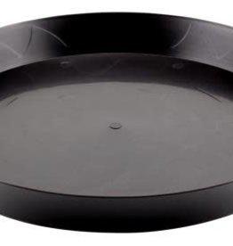 Gro Pro Gro Pro Heavy Duty Black Saucer - 16 in