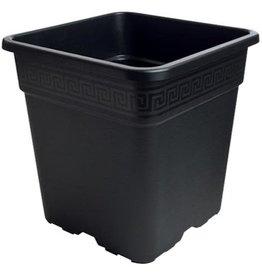 Gro Pro Gro Pro Black Square Pot 5 Gallon
