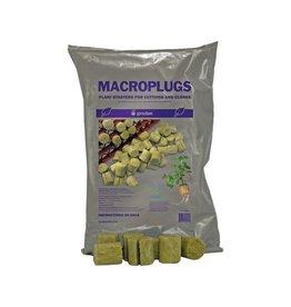 Grodan Grodan MacroPlug Round w/ Slit (50/Bag)