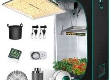 Growing Tents Systems and Trays