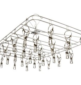 STACK!T STACK!T Hanging Dry Rack w/28 Clips