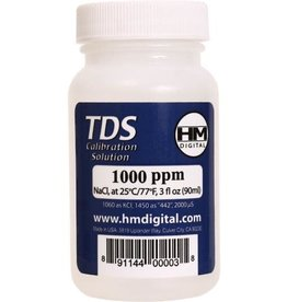 HM Digital Meters HM Digital 1000 ppm TDS Calibration Solution, 3 oz (90 ml)