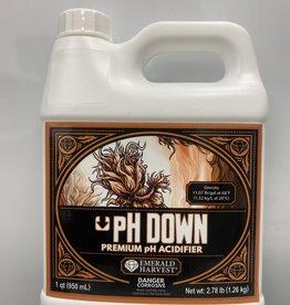 Emerald Harvest Emerald Harvest pH Down Quart/0.95 Liter
