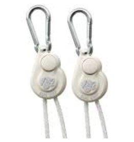 Sun Grip Sun Grip Push Button Light Hanger 1/8 in White -1/Pair