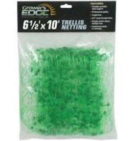 Growers Edge Grower's Edge Green Trellis Netting 6.5 ft x 10 ft