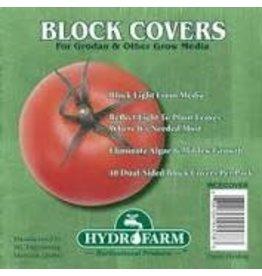 "Hydrofarm Rockwool Block Covers, 4"", Pack of 40"