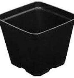 Gro Pro Gro Pro Black Plastic Pot 3.5 in x 3.5 in x 3 in