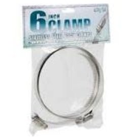 Hydrofarm Stainless Steel Duct Clamps - 6