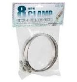 Hydrofarm Stainless Steel Duct Clamps - 8