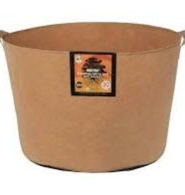 Gro Pro Gro Pro Essential Round Fabric Pot w/ Handles 30 Gallon - Tan
